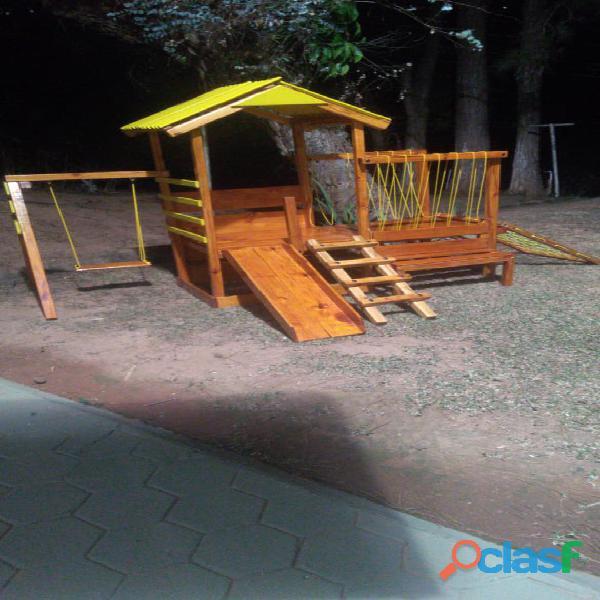 parquinho ( playground infantil de madeira ) 9