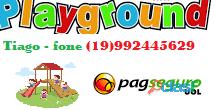 parquinho ( playground infantil de madeira ) 10
