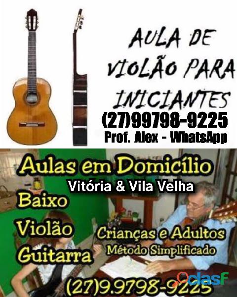 (27)99798.9225 zap aulas violão guitarra vitória es