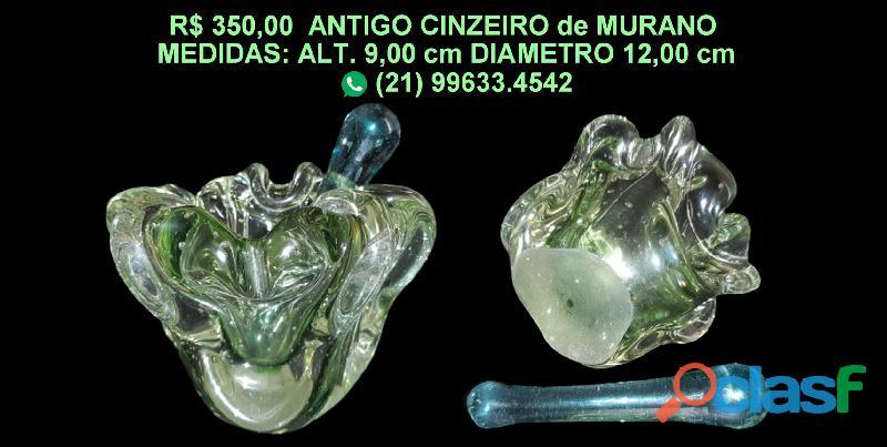 ANTIGO CINZEIRO de MURANO 1