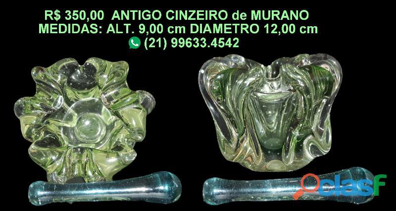 ANTIGO CINZEIRO de MURANO 2