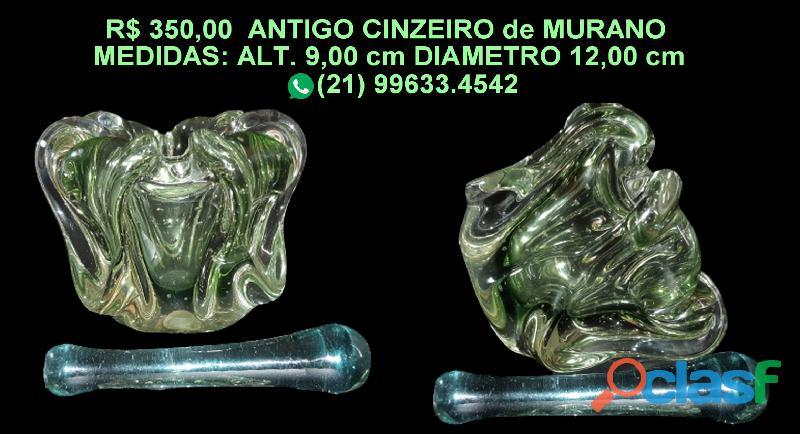 ANTIGO CINZEIRO de MURANO 3