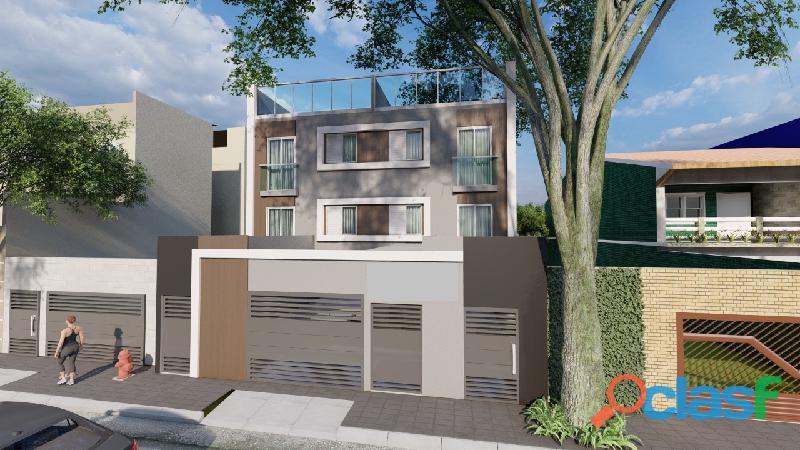 Apartamento sem condomínio 2 dormitórios 44 m² no bairro campestre   santo andré.