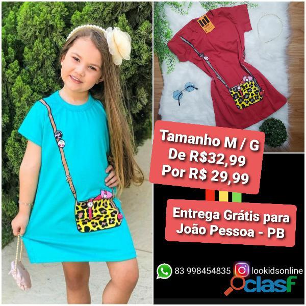 Vestido infantil fashion