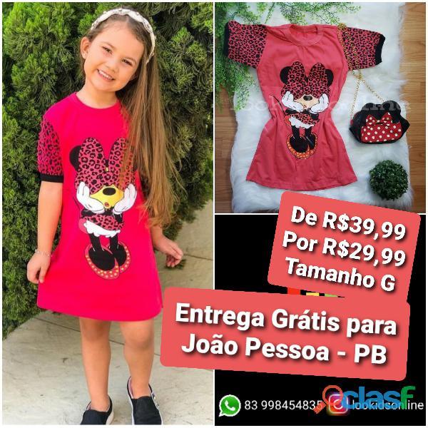 Vestido infantil fashion 1