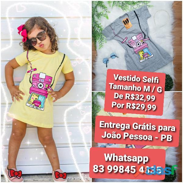 Vestido infantil fashion 2