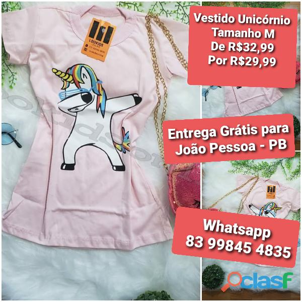 Vestido infantil fashion 5