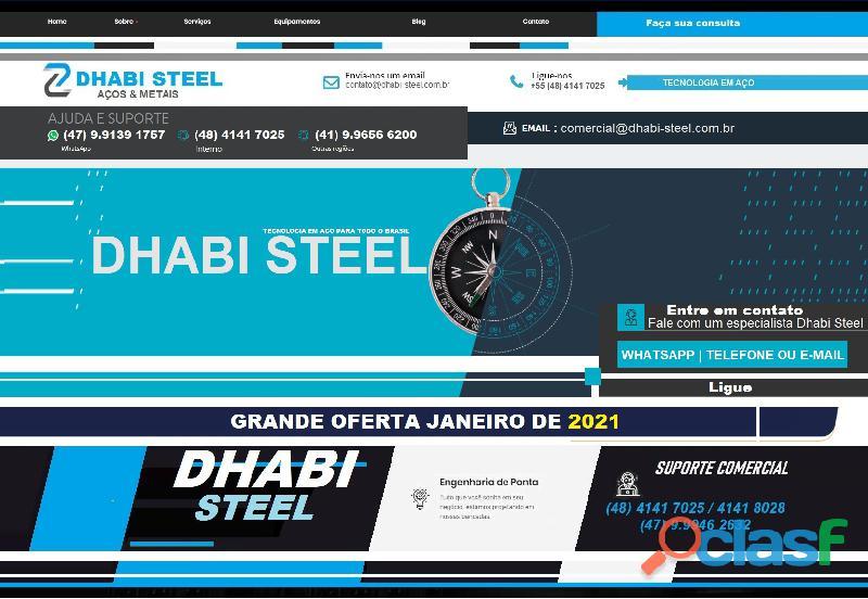 A gigante do aço plano   dhabi steel