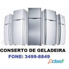 Conserto de geladeira fone 3499 8849