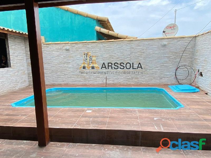 Casa de 2 quartos e piscina !