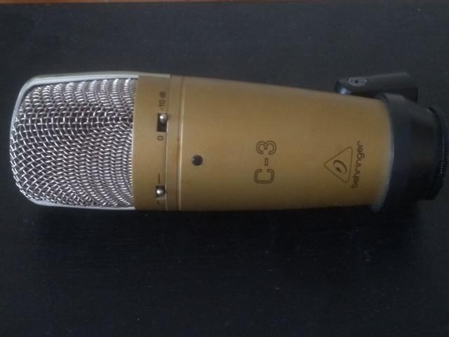 Behringer c-3 microfone condensador