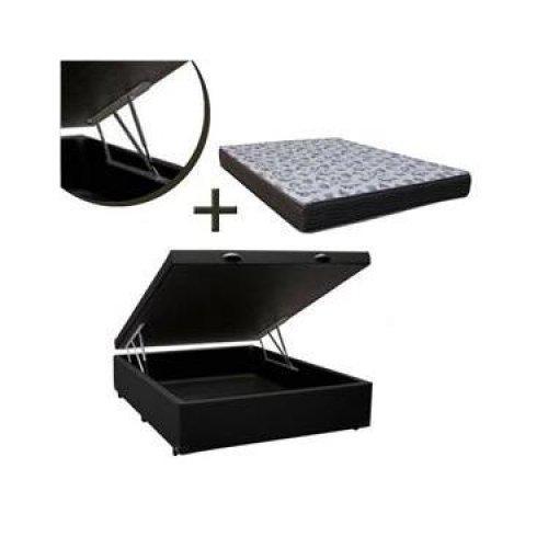 Conjunto cama box casal ortobom 100% conservado