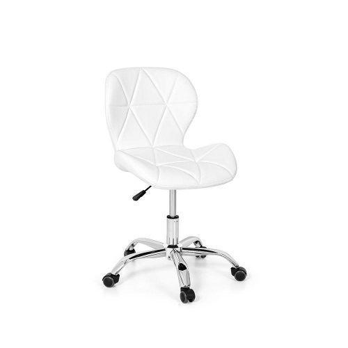 Cadeira office eiffel slim base girat/u00f3ria - branca