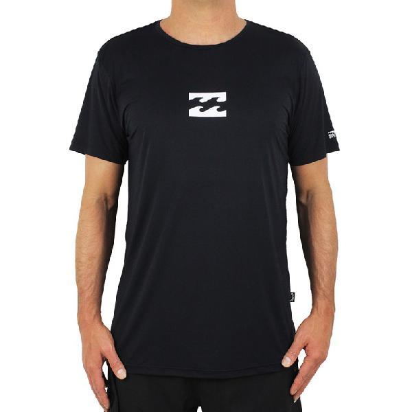 Camiseta billabong all day wave black - surf alive