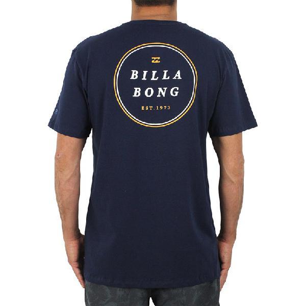 Camiseta billabong rotor lf azul marinho - surf alive