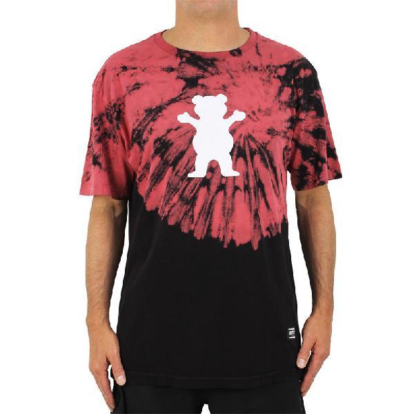 Camiseta grizzly og bear fruit punch tie dye multi - surf