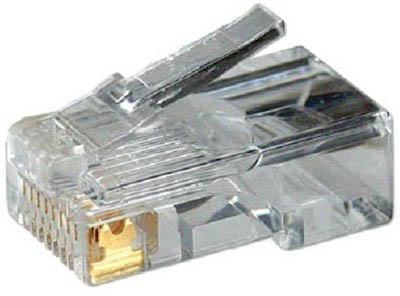 Conector rj-45 p/ rede cat-5 de climp 8 vias commscope