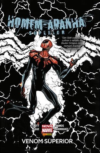 Homem aranha superior: venom superior