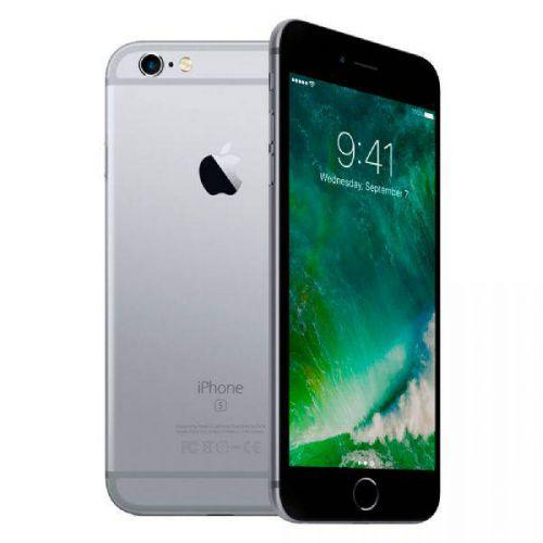 Iphone apple 6s cinza espacial, mn0w2br//a, tela de 4.7/