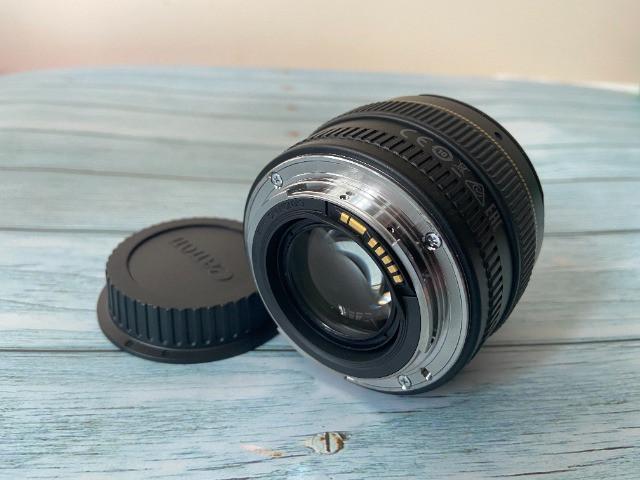 Lente canon ef 50mm f/ 1.4 usm seminova