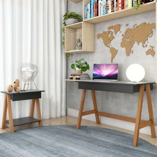 Mesa computador cavalete e mesinha cavalete am/u00eandoa