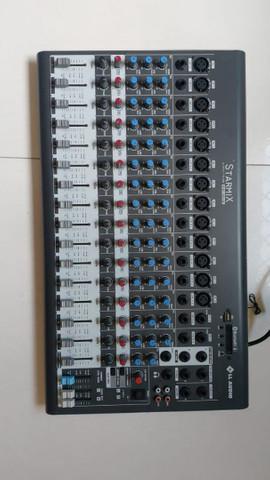 Mesa de som ll audio super conservada