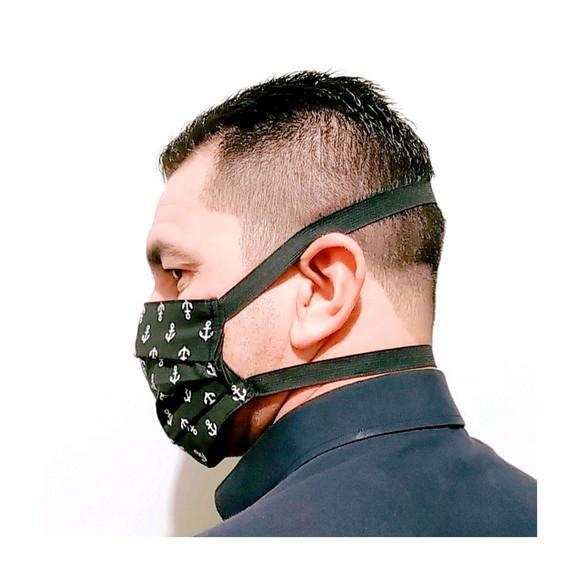 Máscara (três camadas de tecido) kit 2 un + brinde