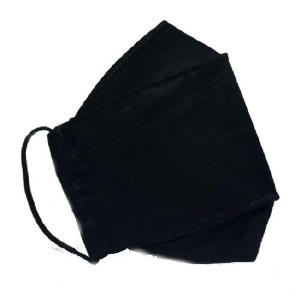Máscara de proteção 3d 3 camadas tecido para quem usa