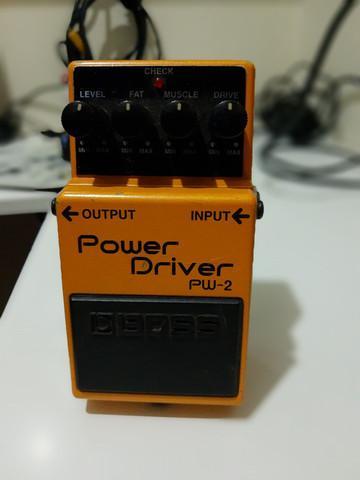 Pedal guitarra boss power drive