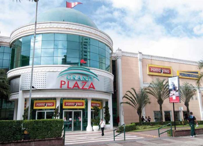 Ponto comercial reformado 49 m² no shopping grand plaza -