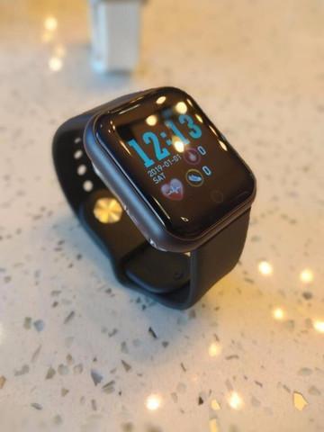 Relógio smartwatch d20 + fone bluetoothn inova