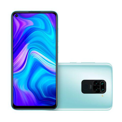 Smartphone xiaomi redmi note 9 dual 64gb branco - polar