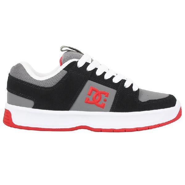 Tênis dc shoes lynx zero black grey red - surf alive