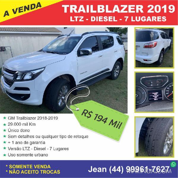 Trailblazer ltz 2019 único dono