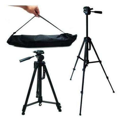 Tripé universal profissional para câmeras, celulares 1,40