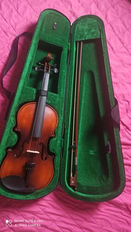 Violino gianini sv 4/4 e estojo térmico