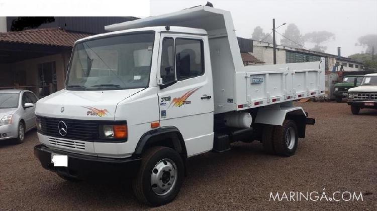 Caminhão mb 710 ano 2003 caçamba direção freio ar