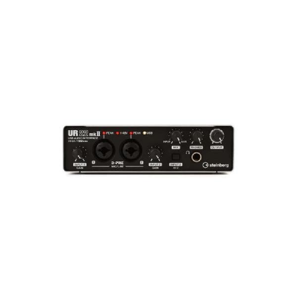 Amplificador steinberg preto interface de audio ur22mkll