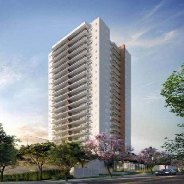 Apartamento de 54m2, 2dorms, 1suite, 1vaga no bairro