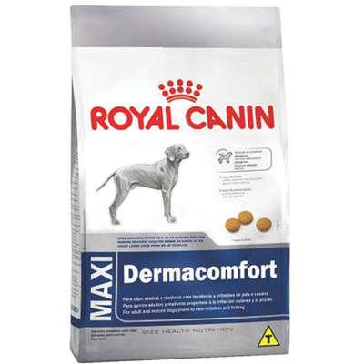 Ração royal canin maxi dermacomfort para cães adultos e