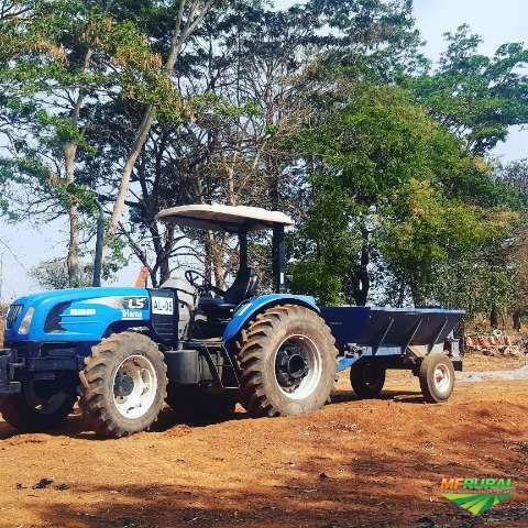 Trator ls tractor plus 90c 4x4 ano 15