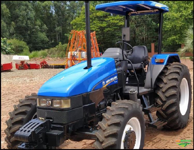 Trator new holland tl 75 e 4x4 ano 08