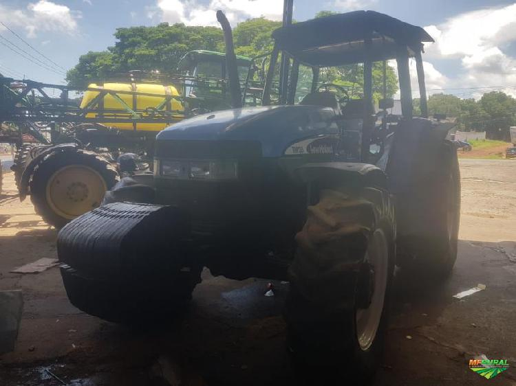 Trator new holland tm 135 4x4 ano 05