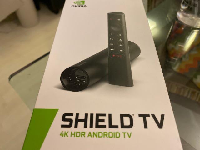 Nvidia shield tv stick hdr 4k, zero e lacrado, versão 2019,