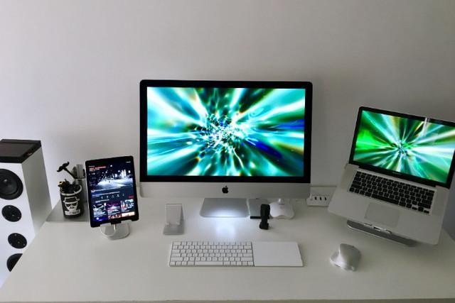 Suporte total para iphone, ipad, macbook, e imac