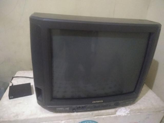 Tv de tubo e conversor troco por ps2 ou tv box