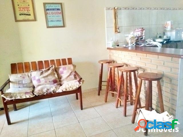 Casa com 3 dormitórios, 104m² - jardim casa branca - caraguatatuba/sp