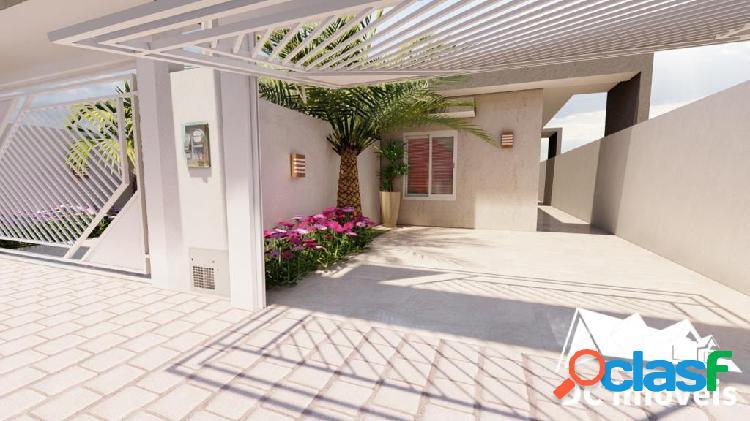 Casa com 3 suítes, 83m² – pontal de santa marina – caraguatatuba/sp