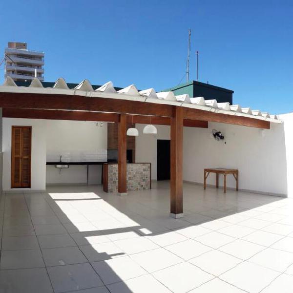 Apartamento 151 m2 total, 2 quartos mais área na cobertura