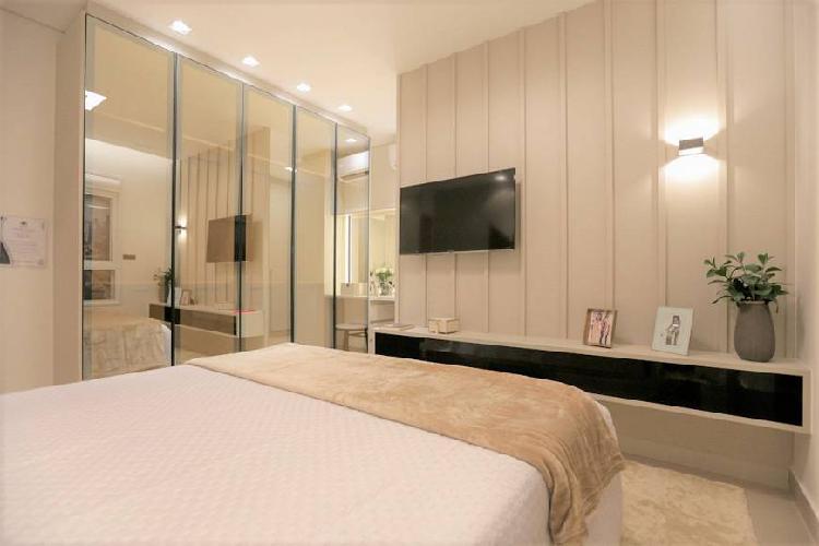 Apartamento a venda de 125m² com 3 quartos sendo 3 suites e